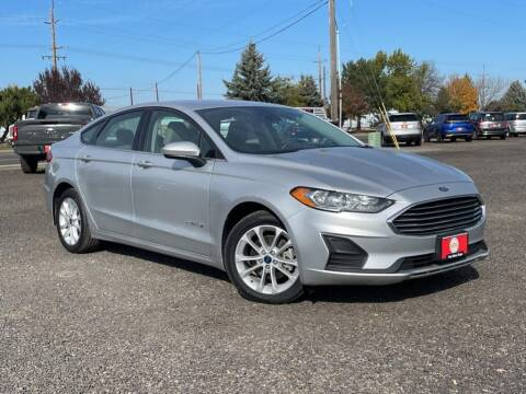 2019 Ford Fusion Hybrid for sale at The Other Guys Auto Sales in Island City OR