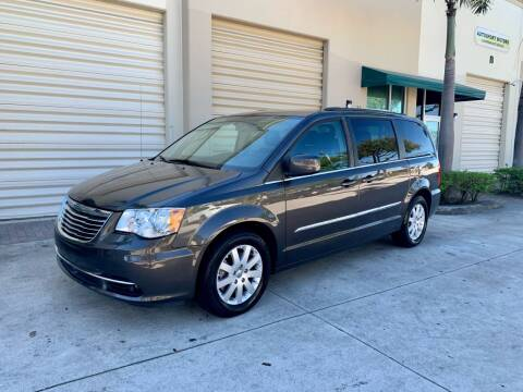 2015 Chrysler Town and Country for sale at AUTOSPORT MOTORS in Lake Park FL