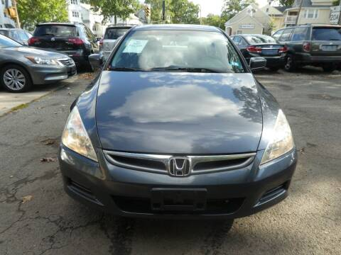 2007 Honda Accord for sale at Wheels and Deals in Springfield MA