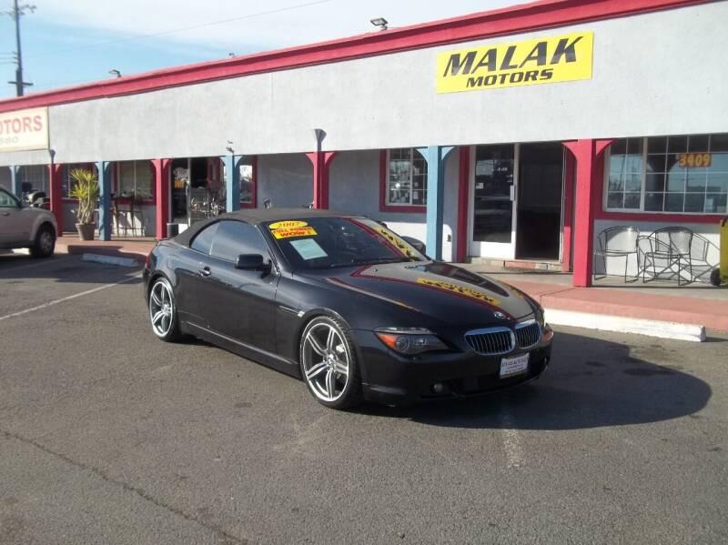 2007 BMW 6 Series for sale at Atayas Motors INC #1 in Sacramento CA