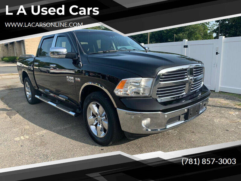 2014 RAM Ram Pickup 1500 for sale at L A Used Cars in Abington MA