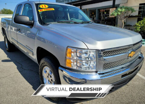 2013 Chevrolet Silverado 1500 for sale at ZOOM CARS LLC in Sylmar CA