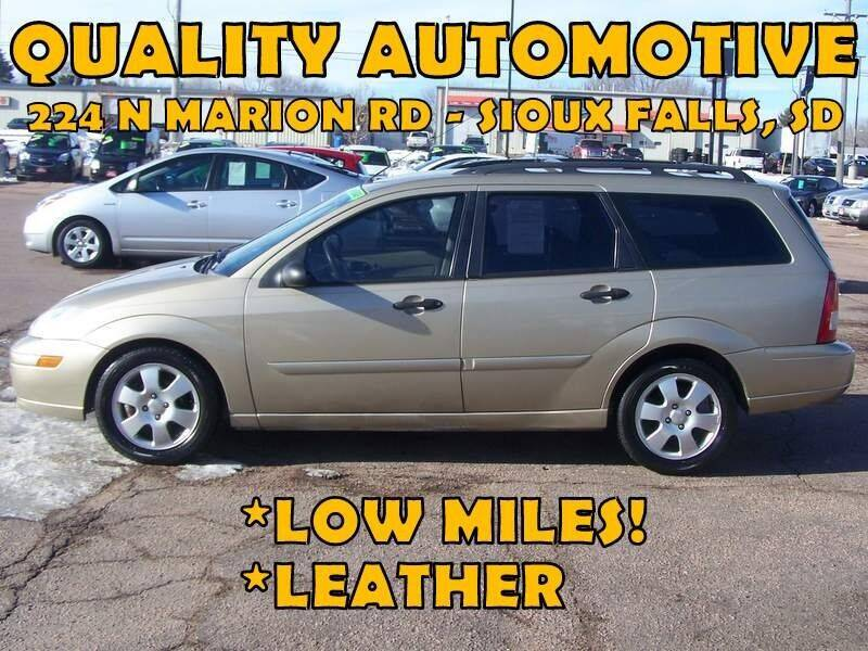 2002 Ford Focus for sale at Quality Automotive in Sioux Falls SD