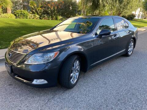 2007 Lexus LS 460 for sale at Donada  Group Inc in Arleta CA