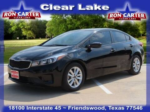 2017 Kia Forte for sale at Ron Carter  Clear Lake Used Cars in Houston TX