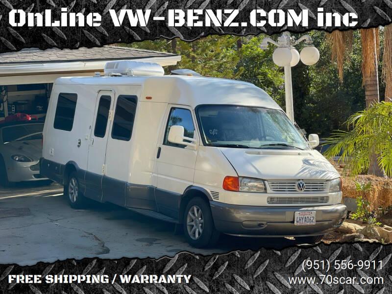 1999 Winnebago Eurovan Camper for sale at OnLine VW-BENZ.COM Auto Group in Riverside CA