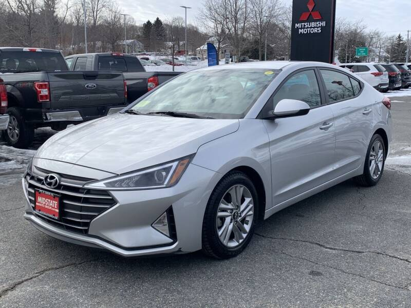 2019 Hyundai Elantra for sale at Midstate Auto Group in Auburn MA