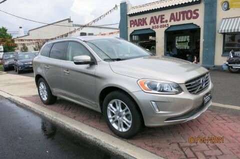 2016 Volvo XC60 for sale at PARK AVENUE AUTOS in Collingswood NJ