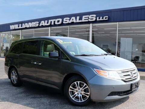 2013 Honda Odyssey for sale at Williams Auto Sales, LLC in Cookeville TN
