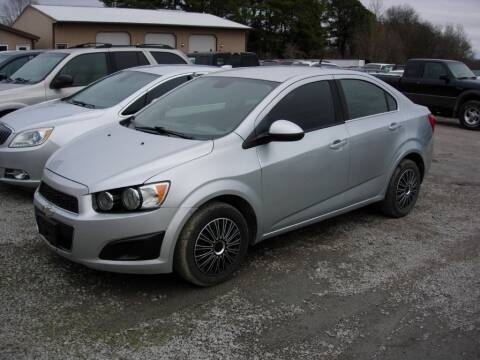 2013 Chevrolet Sonic for sale at Greg Vallett Auto Sales in Steeleville IL