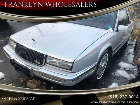 1990 Buick Riviera for sale at Franklyn Auto Sales in Cohoes NY