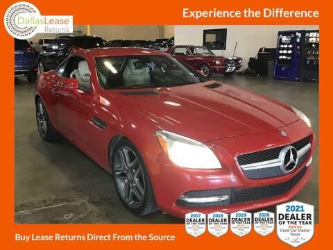 2013 Mercedes-Benz SLK for sale at Dallas Auto Finance in Dallas TX