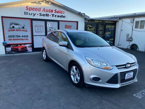 2014 Ford Focus for sale at Speed Auto Sales in El Cajon CA