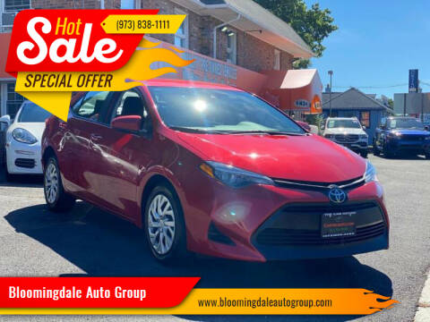 2019 Toyota Corolla for sale at Bloomingdale Auto Group - The Car House in Butler NJ