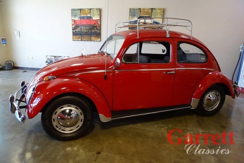 1963 Volkswagen Beetle for sale at Garrett Classics in Lewisville TX