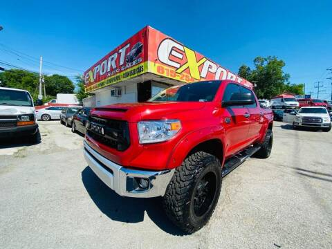 2014 Toyota Tundra for sale at EXPORT AUTO SALES, INC. in Nashville TN