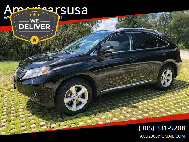 2012 Lexus RX 350 for sale at Americarsusa in Hollywood FL