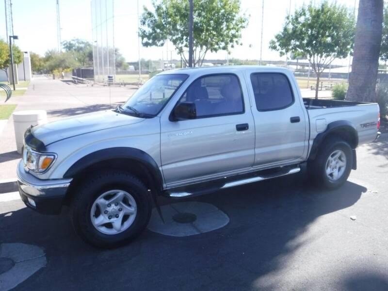 2003 Toyota Tacoma for sale at J & E Auto Sales in Phoenix AZ