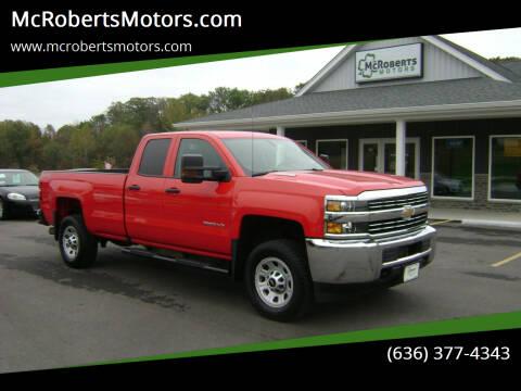 2016 Chevrolet Silverado 2500HD for sale at McRobertsMotors.com in Warrenton MO
