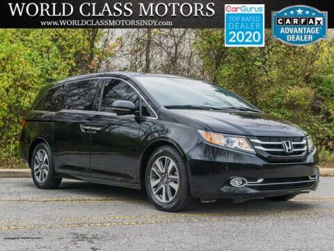 2016 Honda Odyssey for sale at World Class Motors LLC in Noblesville IN