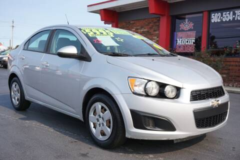 2013 Chevrolet Sonic for sale at Premium Motors in Louisville KY