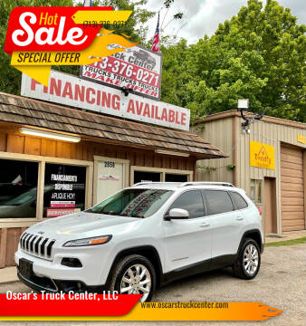 2014 Jeep Cherokee for sale at Oscar's Truck Center, LLC in Houston TX