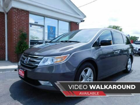 2012 Honda Odyssey for sale at Delaware Auto Sales in Delaware OH