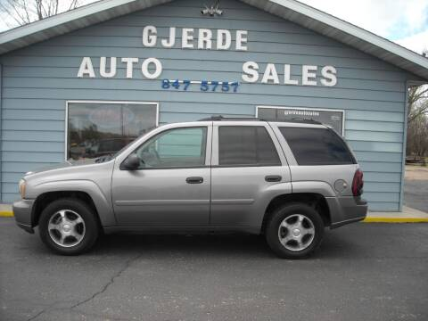 2008 Chevrolet TrailBlazer for sale at GJERDE AUTO SALES in Detroit Lakes MN