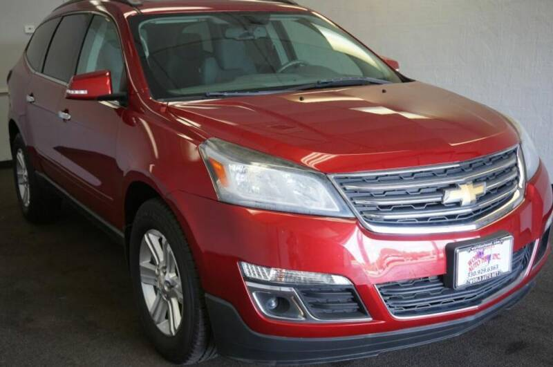 2013 Chevrolet Traverse for sale at World Auto Net in Cuyahoga Falls OH
