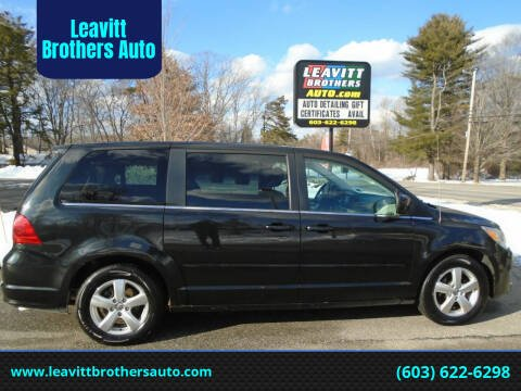 2010 Volkswagen Routan for sale at Leavitt Brothers Auto in Hooksett NH