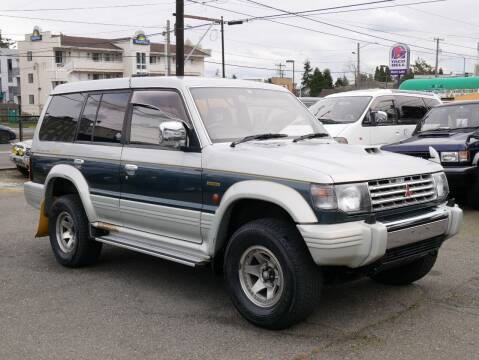 1993 Mitsubishi Pajero *RESERVED for sale at JDM Car & Motorcycle LLC in Seattle WA