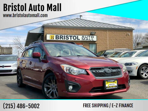 2013 Subaru Impreza for sale at Bristol Auto Mall in Levittown PA
