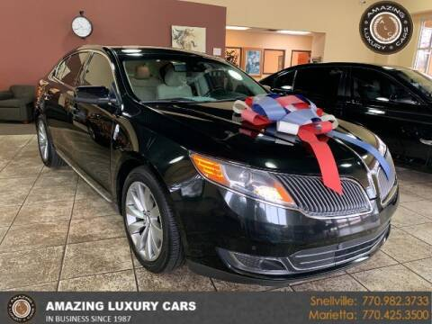 2015 Lincoln MKS for sale at Amazing Luxury Cars in Snellville GA
