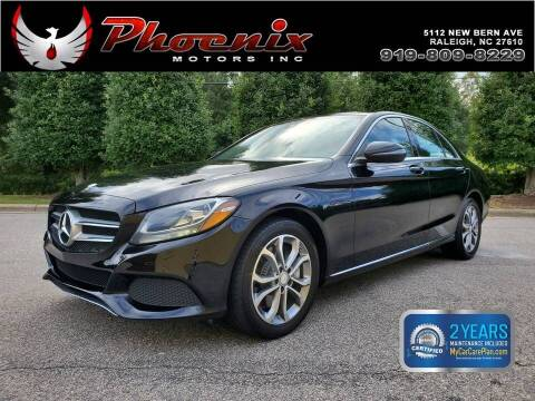 2016 Mercedes-Benz C-Class for sale at Phoenix Motors Inc in Raleigh NC