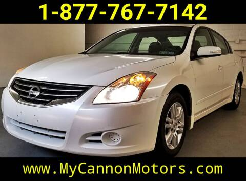 2010 Nissan Altima for sale at Cannon Motors in Silverdale PA