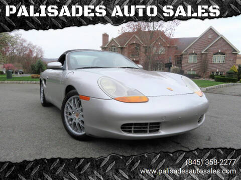 1999 Porsche Boxster for sale at PALISADES AUTO SALES in Nyack NY