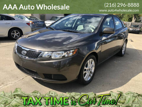 2012 Kia Forte for sale at AAA Auto Wholesale in Parma OH