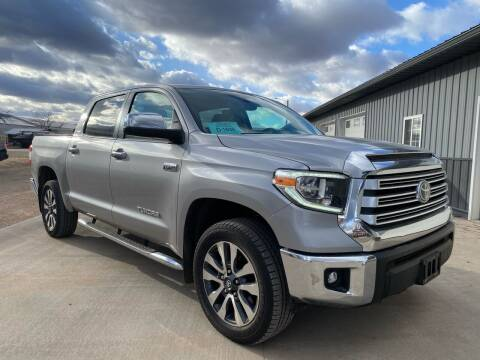 2020 Toyota Tundra for sale at FAST LANE AUTOS in Spearfish SD
