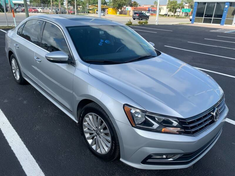 2016 Volkswagen Passat for sale at Eden Cars Inc in Hollywood FL