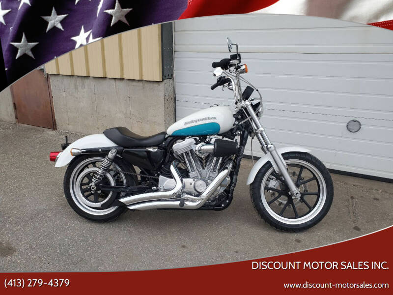 2017 Harley-Davidson XL883L SPORTSTER SUPERLOW for sale at Discount Motor Sales inc. in Ludlow MA