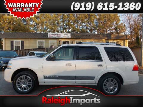 2012 Lincoln Navigator for sale at Raleigh Imports in Raleigh NC