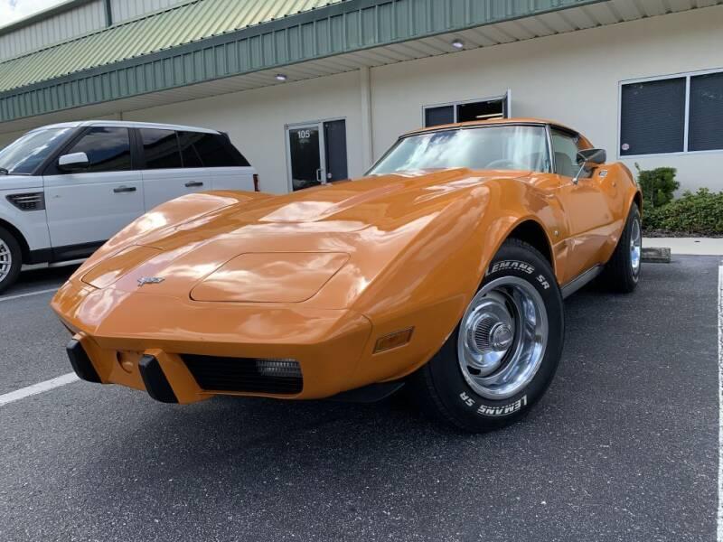 1977 Chevrolet Corvette for sale at Fisher Motor Group LLC in Bradenton FL