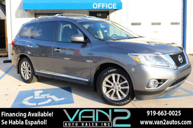 2015 Nissan Pathfinder for sale at Van 2 Auto Sales Inc in Siler City NC