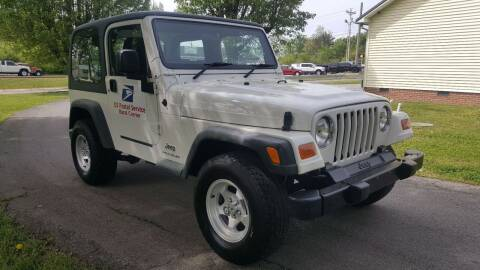 2003 Jeep Wrangler Sport for sale at Crossroads Auto Sales LLC in Rossville GA