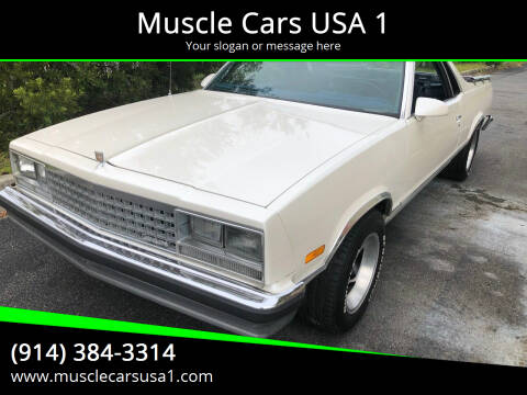1986 GMC Caballero for sale at Muscle Cars USA 1 in Murrells Inlet SC