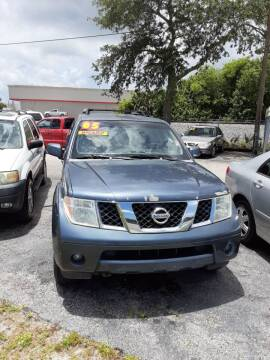 2005 Nissan Pathfinder for sale at Easy Credit Auto Sales in Cocoa FL
