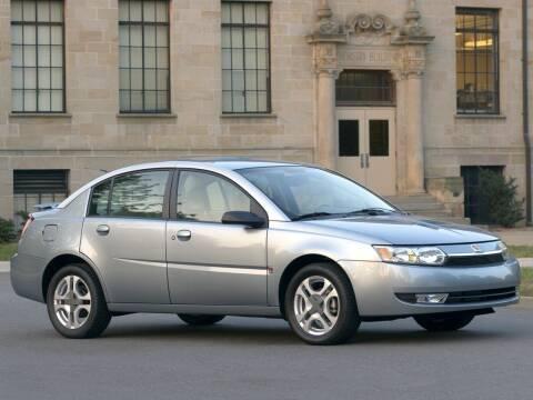 2004 Saturn Ion for sale at Sundance Chevrolet in Grand Ledge MI