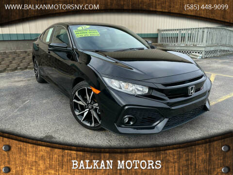 2018 Honda Civic for sale at BALKAN MOTORS in East Rochester NY