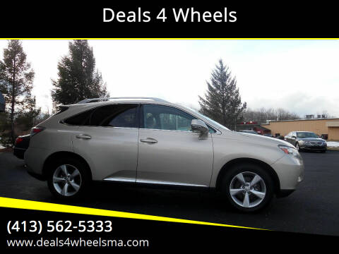 2011 Lexus RX 350 for sale at Deals 4 Wheels in Westfield MA
