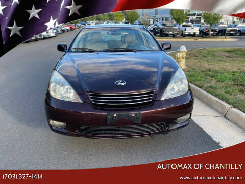 2002 Lexus ES 300 for sale at Automax of Chantilly in Chantilly VA